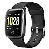 Willful Smartwatch Orologio Fitness Uomo Donna Fitness Tracker Contapassi Calorie Cardiofrequenzimetro da polso Impermeabile IP68 Smart Watch con Cronometro Notifiche Messaggi per Android iOS